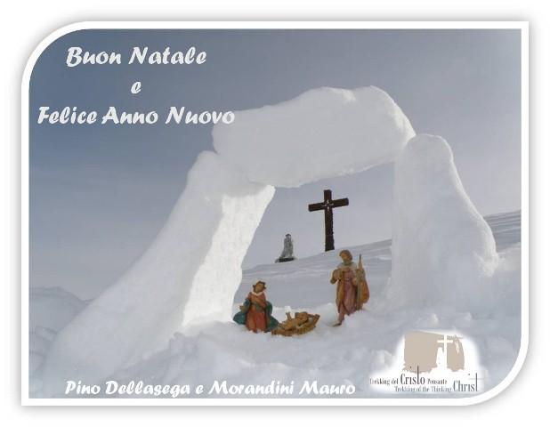 buon natale pino e mauro piccola Auguri di Buon Natale dal blog di Predazzo e dal Trekking del Cristo Pensante