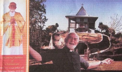 padre luigi iellici Tesero, morto in India Padre Luigi Iellici in missione da 75 anni, collaborò con madre Teresa di Calcutta.