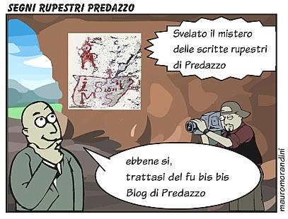 scritte rupestri predazzo by blog predazzo Predazzo: Le scritte dei pastori della valle di Fiemme