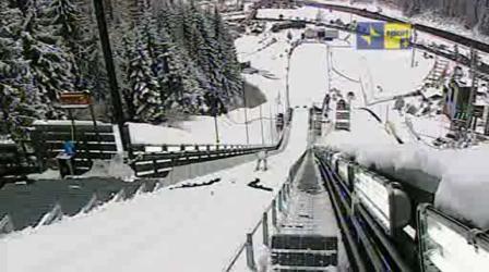 tour de ski stadio del salto predazzo2 Il Tour De Ski in Val di Fiemme, maratona in TV con Sci di Fondo e Combinata. Orari della diretta TV.