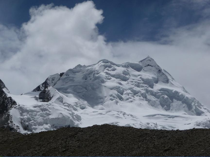 CHO OYU Spedizione al Cho Oyu, Aldo Leviti in solitaria ai 7200 mt del campo 2
