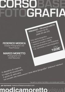 volantinocorsosmall 212x300 Predazzo, corso base di fotografia con Federico Modica e Marco Moretto