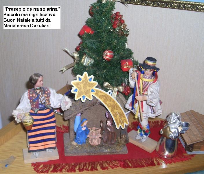 presepio Mariateresa Dezulian Predazzo blog natale 2010 Inviate la foto del vostro presepio al Blog di Predazzo, verrà pubblicata e sarà laugurio reciproco di Buon Natale.