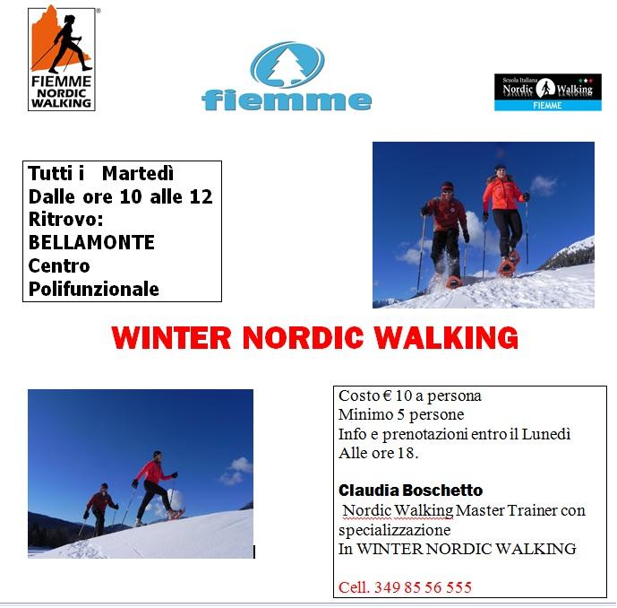 winter nordic walking 2011 predazzo blog Val di Fiemme, le iniziative invernali del Nordic Walking