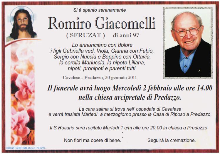 romiro giacomelli Predazzo necrologi: Riccardo Boninsegna, Romiro Giacomelli, Giovanni Gabrielli