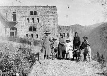 dossaccio fine grande guerra predazzo blog Il Forte Dossaccio tra memoria e restauro