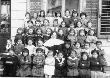 predazzo foto storica dame inglesi a fine 800 predazzo blog Predazzo nella storia: Le Dame Inglesi a fine 800