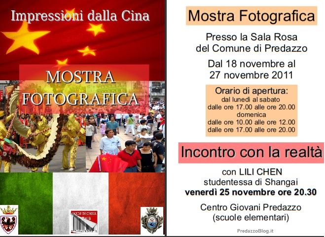 """impressioni dalla cina predazzo blog Predazzo, inaugurazione mostra fotografica """"Impressioni dalla Cina"""