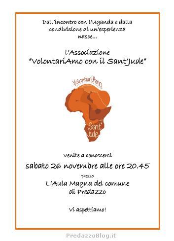 volontariamo predazzo blog Predazzo, presentazione dellAssociazione VolontariAmo con il SantJude