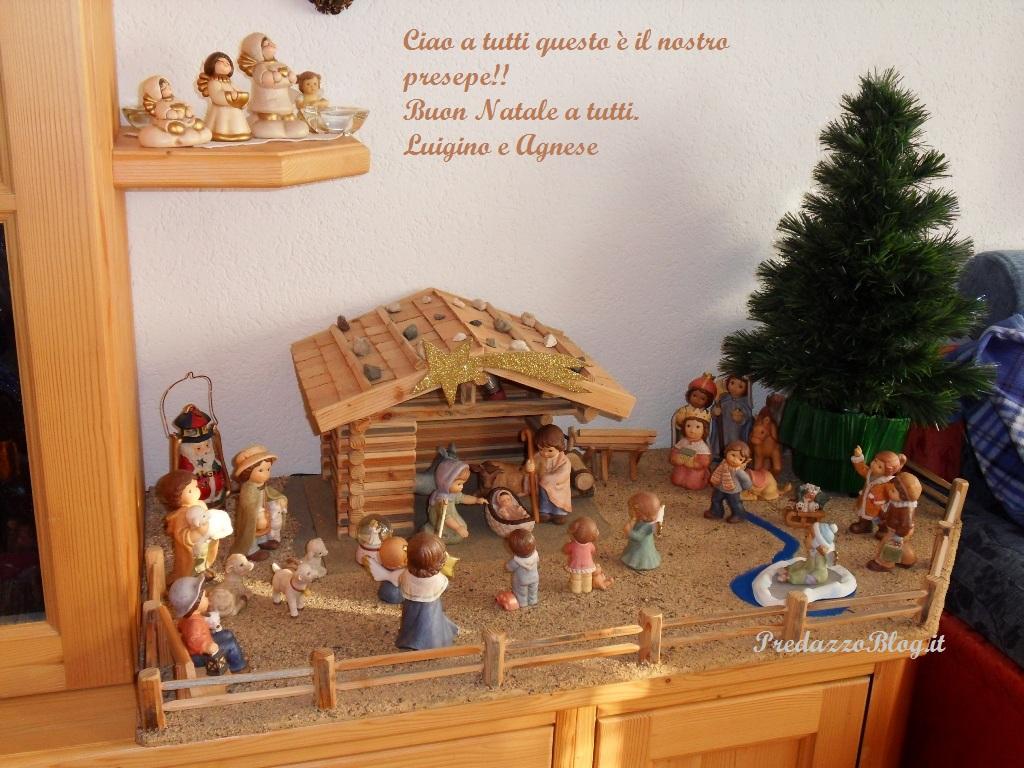 Natale 2011 Agnese Felicetti Predazzo blog  Buon Natale dagli amici di PredazzoBlog attraverso la foto del loro presepio   3