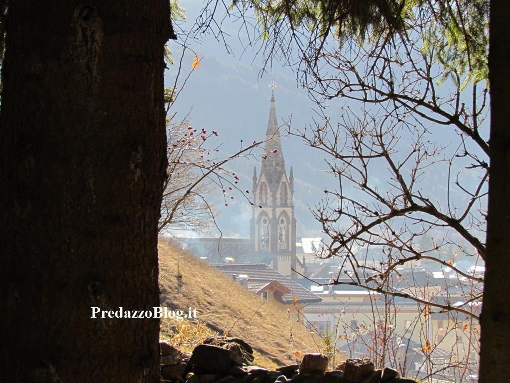 Predazzo scorcio con chiesa ph mauro morandini predazzo blog media Predazzo avvisi della Parrocchia dal 11 al 18 dicembre