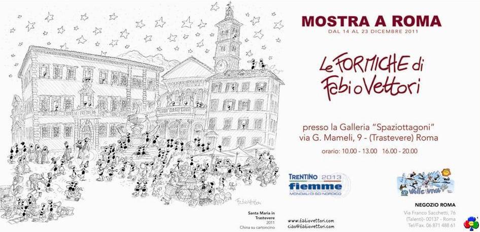 fabio vettori formiche a roma predazzo blog1 Le formiche di Fabio Vettori marciano su Roma
