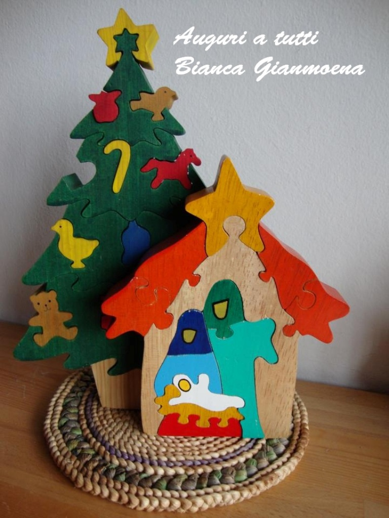 presepio bianca gianmoena  Buon Natale dagli amici di PredazzoBlog attraverso la foto del loro presepio – 4
