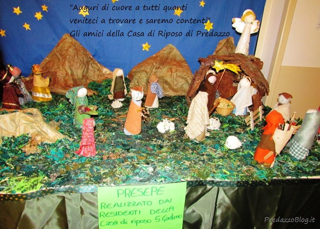 presepio casa di riposo predazzo natale 2011 predazzoblog Buon Natale dagli amici di PredazzoBlog attraverso la foto del loro presepio