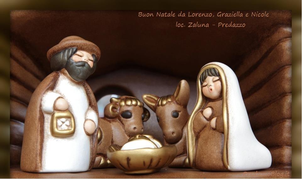 presepio thun graziella gabrielli zaluna predazzo blog Buon Natale dagli amici di PredazzoBlog attraverso la foto del loro presepio