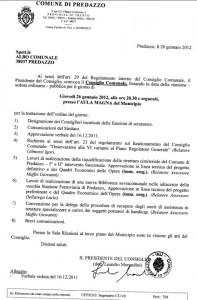 convocazione consiglio comunale predazzo blog 26.01.2012 197x300  Predazzo, convocazione del Consiglio Comunale 26.1.2012