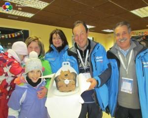 fiemme 2013 torta skiri ai trampolini predazzo predazzoblog11 300x240 Team Web Mondiali 2013, la Val di Fiemme ha fatto il giro del mondo