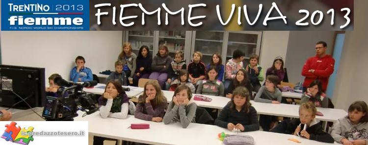 fiemme viva 2013 predazzo blog I ragazzi di Fiemme Viva 2013 intervistano i cittadini di Predazzo   video