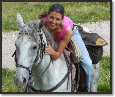 katia dellagiacoma a cavallo predazzo blog Predazzo Live: Katia Dellagiacoma Lena