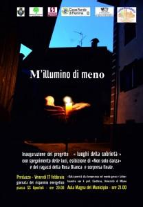 millumino di meno locandina predazzo blog 208x300 Predazzo, MIllumino di Meno 2012   Venerdì 17 febbraio