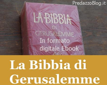 Bibbia di gerusalemme online dating