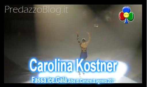carolina kostner fassa ice gala canazei ph mauro morandini predazzoblog Carolina Kostner medaglia doro ai Mondiali di pattinaggio a Nizza   Video