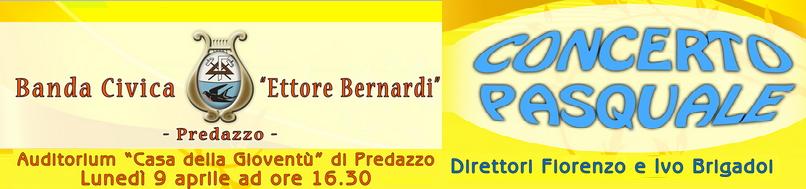 concerto pasqua banda predazzo blog Predazzo, concerto di Pasqua con la Banda Civica E. Bernardi