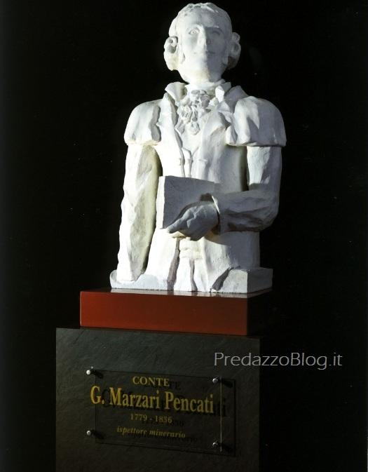 marzari pencati predazzo blog  Predazzo, il Conte Giuseppe Marzari Pencati, nuova opera di Vincent
