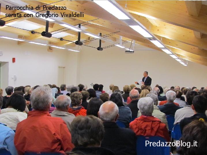 gregorio vivaldelli parrocchia di predazzo Predazzo serata con il prof. Gregorio Vivaldelli. Registrazione live