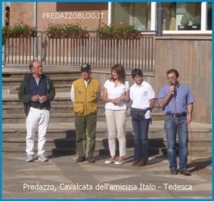amicizia Italo Tedesca autorita predazzoblog 300x283 Predazzo, Cavalcata dellamicizia Italo   Tedesca