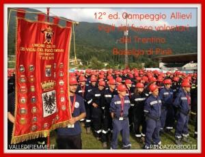 campeggio allievi vigili del fuoco trentino 2012 pine 300x230 Anche i ragazzi di Predazzo al 12° Campeggio Provinciale Allievi Vigili del Fuoco Volontari a Baselga di Pinè