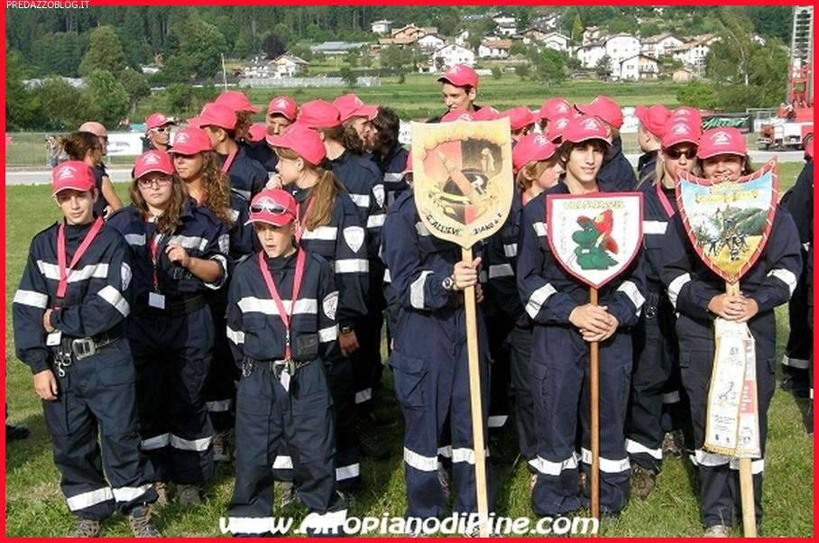 gruppo fiemme campeggio allievi vigili del fuoco trentino 2012 pine Anche i ragazzi di Predazzo al 12° Campeggio Provinciale Allievi Vigili del Fuoco Volontari a Baselga di Pinè