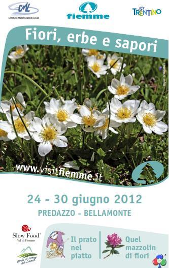 predazzo fiori erbe sapori 2012 predazzo blog Predazzo e Bellamonte tra fiori erbe sapori   scarica Ebook