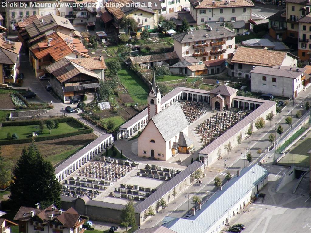 predazzo chiesa s nicolo e cimitero by morandinieu Predazzo