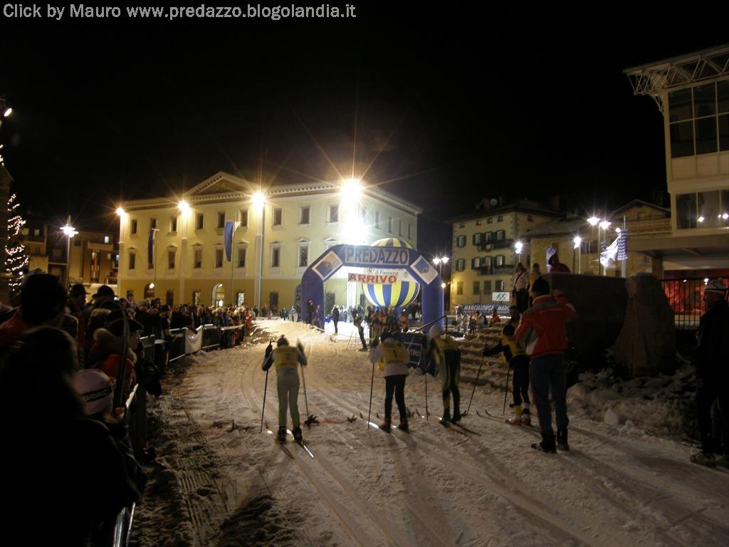 predazzo gara notturna sci nordico by morandinieu Predazzo