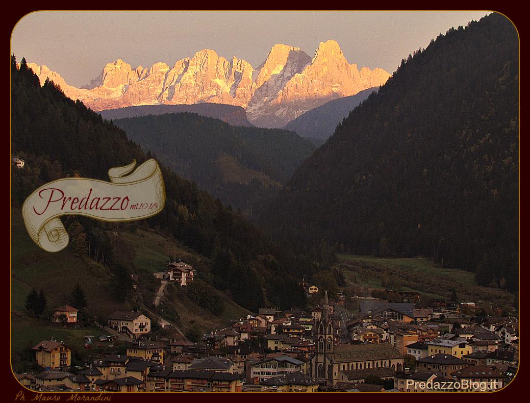 predazzo tramonto by predazzoblog Predazzo