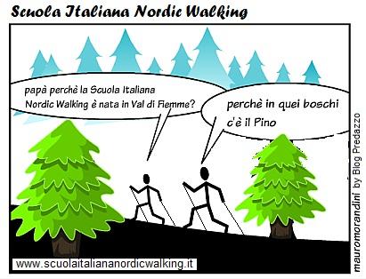 scuola italiana nordic walking by blog predazzo Niuss