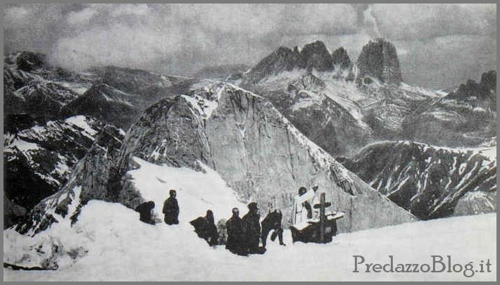 guerra marmolada Il ghiacciaio della Marmolada restituisce un soldato dopo 95 anni. Video storico.