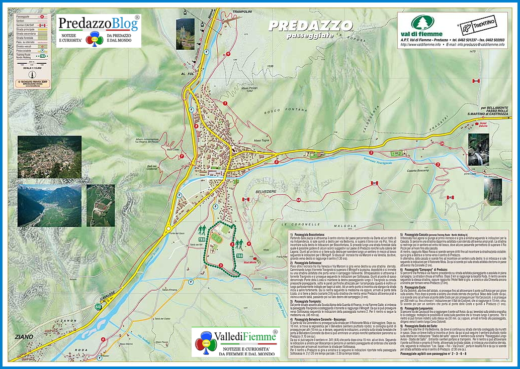 passeggiate a predazzo fiemme outdoor Passeggiate a Predazzo