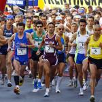 marcialonga running 2010 partenza ph federico modica predazzoblog.it  150x150 Classifiche e foto della Marcialonga Running 2010. Vince Elbarouki, prima delle donne Federica Ballarini