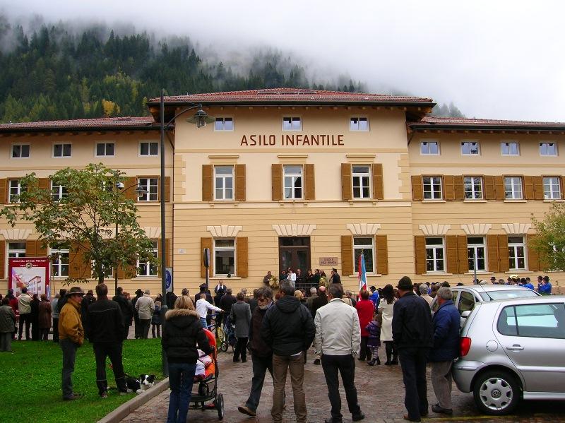 predazzo inaugurazione asilo predazzo blog