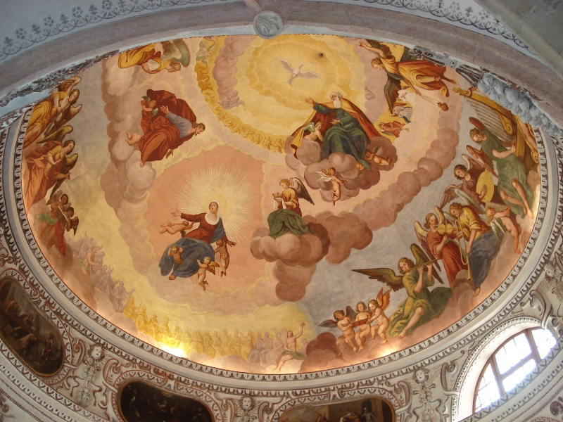 fiemme chiesa s.maria assunta cavalese restaurata ph luisa monsorno per predazzoblog4 Avvisi Parrocchie 4/11 agosto. Necrologio Vigilio Mich