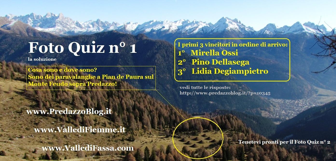 Foto Quiz n1 soluzione con vincitori by Predazzo Blog