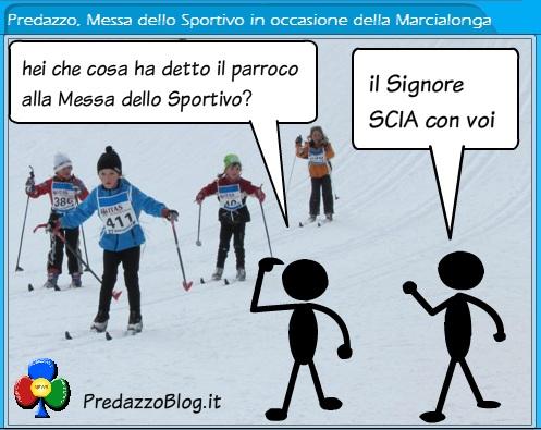 predazzo messa dello sportivo in occasione della marcialonga predazzo blog1 S.Messa dello Sportivo a Predazzo con le Associazioni Sportive di Fiemme e Fassa