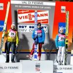 predazzo podio salto femminile coppa del mondo 14 genn 2012 150x150 Predazzo, ultima gara della Continental Cup allo Stadio del Salto