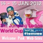 ski jumping ladies welcome pink web sites fiemme 2013 150x150 Predazzo, ultima gara della Continental Cup allo Stadio del Salto