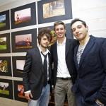 Da sx Sandro Federico e Marco 150x150 ELEMENTS: A Predazzo la prima fotografica di Federico Modica e Marco Moretto
