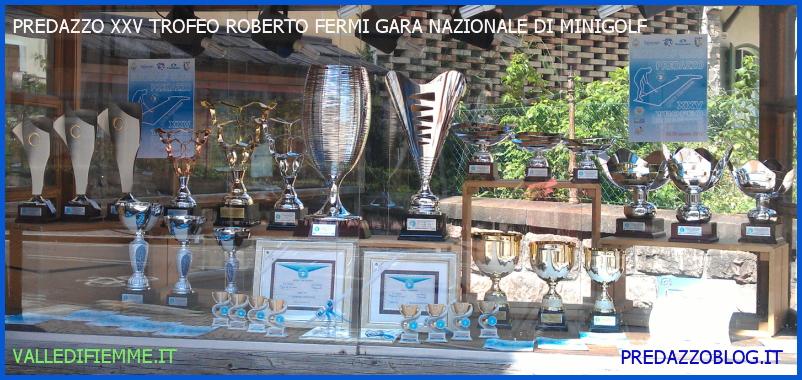 PREDAZZO TROFEO ENRICO FERMI MINIGOLF PREDAZZO BLOG FIEMME Minigolf in Valle di Fiemme per ricordare Roberto Fermi