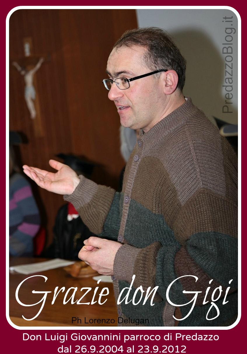 Grazie don Gigi parroco di Predazzo - predazzoblog