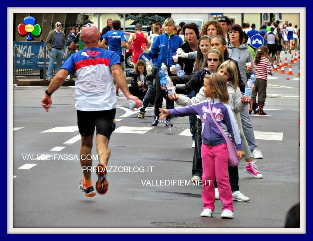 Marcialonga running 2012 passaggio a Predazzo ph mauro morandini predazzoblog151 1024x789 Gualdi Giovanni vince la Marcialonga Running 2012   Classifiche e Foto